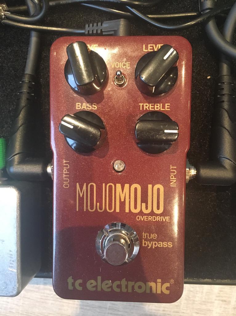 TC Electronic Mojo Mojo overdrive pedal