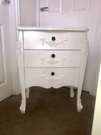 Dunelm White Chest of Drawers