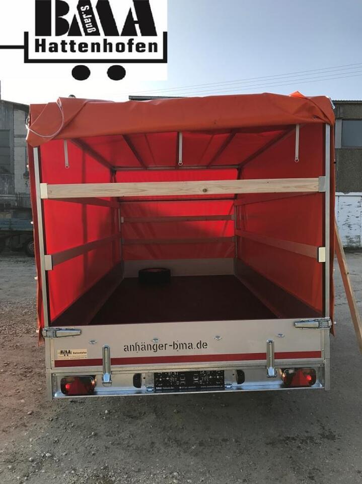 EDUARD Multitransport Anhänger 2700kg 4x2x1,80 mit Hochplane 45° in Mühlhausen im Täle