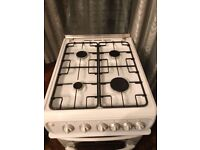 Hotpoint Gas Hob with Double Oven.