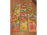 Vintage Winnie The Pooh Book Collection 1996