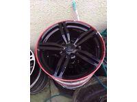"Bmw m6 19"" single alloy wheel CAN POST"
