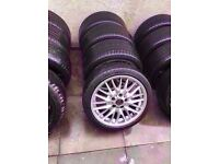 """Bmw Mv1 18"""" Alloy Wheels Can Sell Single Can Post Part Ex Welcome"""