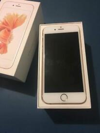 iPhone 6s 16 gb rose gold A grade barely used great condition