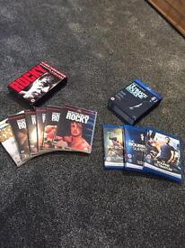 Rocky and Bourne dvds