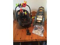 Joie I-gemm car seat and base
