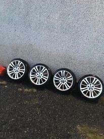 "20"" Genuine range rover alloys, will fit transporter T5, vivaro, trafic, primistar"