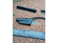 Ford capri body kit arches splitters side panels mk3 not mk1 2