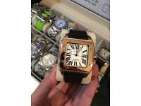 Cartier santos 100 XL rose gold one in a million to find