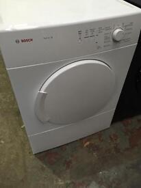 **SUPER SALE** New Graded Bosch WTA74100GB Vented 7kg Tumble Dryer - White