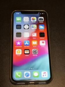 Silver Iphone x 256 GB