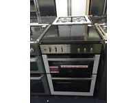 New Ex-Display Stoves SDF60DO 60cm Dual Fuel Cooker Stainless Steel £299