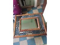 Jali style mirror