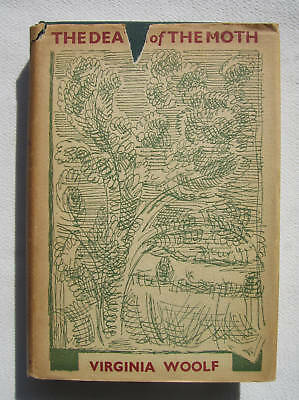 VIRGINIA WOOLF 1942 THE DEATH OF THE MOTH AND OTHER ESSAYS SCARCE FIRST (The Death Of The Moth And Other Essays)