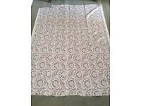 Luxury Designer Fabric by The Rosa Bernal Collection (Hand Printed) 1m 90cm BATTERSEA COLLECTION