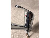 Stainless steel Kitchen mixer tap RRP £49 Excellent Condition