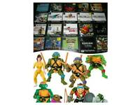 Wanted : PS1 and snes games. Also 90's toy figures