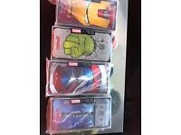 Samsung a3 phone cases pack of 4 marvel