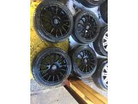 "15"" ALLOY WHEELS ASTRA, CORSA, CLIO, MEGANE, CIVIC, MINI MICRA POLO SET OF 4"