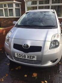 Toyota Yaris 1.4D 2008 reg 5 door