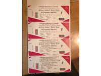 Anthony Joshua V Kubrat Pulev Tickets, Floor Seats, Block A5