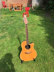 Ovation Bowlback Acoustic Guitar