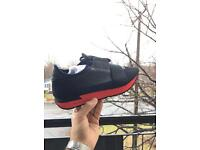 Balenciaga Runners Navy/Red New with Receipt Size 7