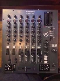 For Sale - Allen & Heath XONE:62 6 Channel DJ Mixer - *** Great Condition, Just Serviced ***