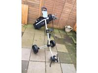 Adult Slazenger golf trolley