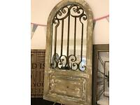 Distressed Arch Mirror new
