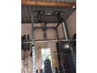 Power cage, Bodymax lat/low pulley attachment