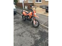 Pulse adrenaline 125cc road legal 2014