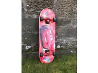 'CARS' Skateboard, 3-6 Years Old, £5