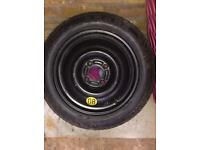 Ford 4nut 15inch spacesaver wheel. £40 ONO