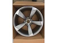 Audi 20 inch rotar alloy wheel