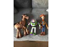 Toy story talking toy characters just £60