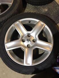 Peugeot 17in wheels