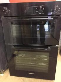 BOSCH HBM13B261B double built in oven NEW