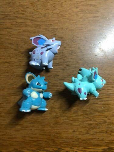 Pokemon Nidoran Nidorina Nidoqueen Mon-Colle Figure Takara Tomy Pre-Owned