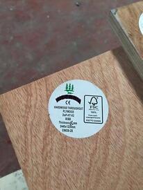 Hardwood Plywood 18mm 8x4sheets