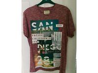 Burtons San Diego T-Shirt Size Medium