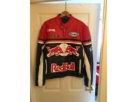Men's Redbull Racing Leather Motorbike Jacket