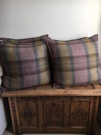 Duck Feather Extra Large Tweed Cushions - DFS - Loch Leven