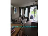 Luxury Craig Tara caravan to rent