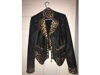 Ladies Leather Look Jacket ( Can Deliver )