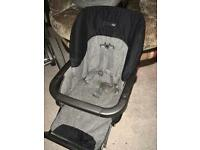 Car seat, carrycot & pushchair