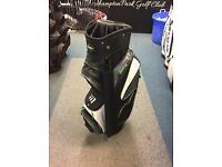 MASTERS 14 WAY CART BAG. AVERAGE CONDITION