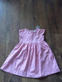 Gorgeous Girls Next pink dress age 5-6 years brand new