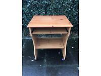 Small Pine Desk ( Can Deliver )