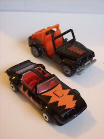 matchbox and siku toy cars - 1980s Kellogg's Frosties promos